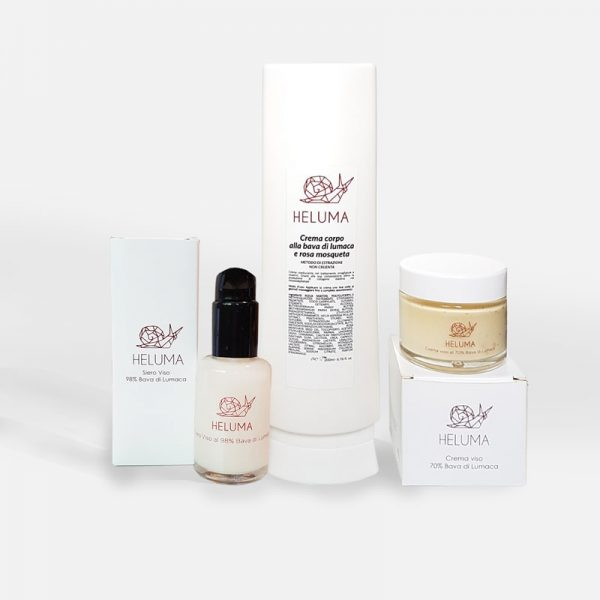 Snail Slime Body Cream, Facial Serum and Facial Cream
